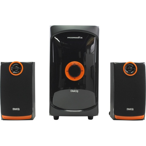 Компьютерные колонки Dialog Progressive AP-200 Black, Orange